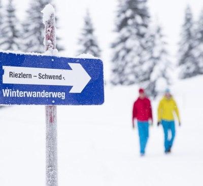 Winterwandern im Kleinwalsertal