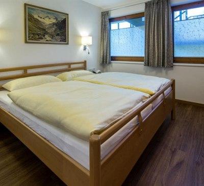 Am Eschenbichl Mayrhofen - Ahorn Schlafzimmer