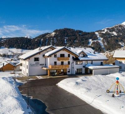 Apart-Hotel Dreisonnenhof im Winter