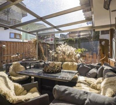 Lounge mit Garten Bergfahrt, © Patricia Kames