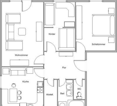 Appartment Corina Mayrhofen - Grundriss_01