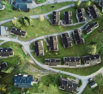 Unser Haus Luftbild