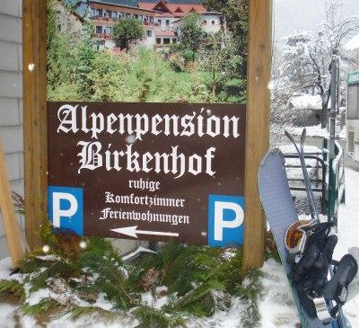Skibushaltestelle Birkenhof
